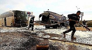 Gaziantep'te yakıt tankeri patladı