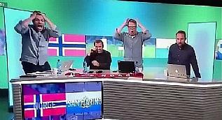 San Marino gol at�nca Norve� televizyonu...