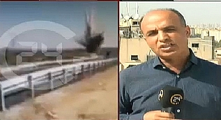 Nusaybin'da bomba y�kl� iki ara� b�yle imha edildi