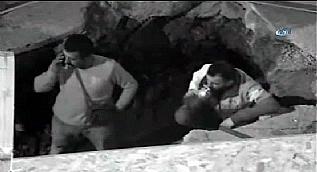 Do�algaz alt yap� �al��mas�nda 'Sigara' skandal� kamerada