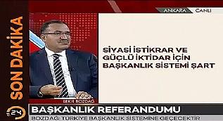 Bozda�: 2017 i�erisinde referandum yap�labilir