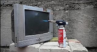 T�pl� televizyon yak�l�rsa ne olur?