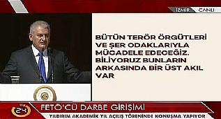 Y�ld�r�m: FET� ve PKK 15 Temmuz �ncesi bulu�tu
