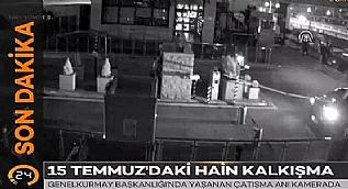 Genelkurmay Ba�kanl���'nda ya�anan �at��ma an� kamerada