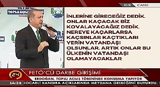 Cumhurba�kan� Erdo�an: Benim 241 �ehidim ve ailesi ma�dur de�il mi?