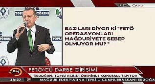 Cumhurba�kan� Erdo�an: �dam milletin talebidir