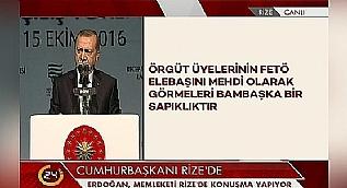 Cumhurba�kan� Erdo�an: K�lt�r devrimine �iddetle ihtiyac�m�z var