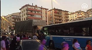 Ankara'da zincirleme trafik kazas�