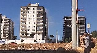 Gaziantep'te canl� bomban�n kendini patlatma an�