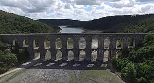 Baraj sular� �ekilince ortaya ��kan Ma�lova Su Kemeri