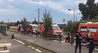 Fransa'da tren kazas�!
