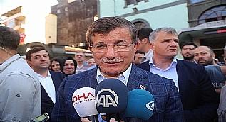 Ahmet Davuto�lu: Suriye politikam�z� ele�tirenler ��kt� ama...