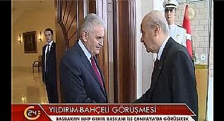 Ba�bakan Y�ld�r�m Devlet Bah�eli ile g�r��ecek