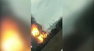 Almanya'da kimya tesislerinde patlama