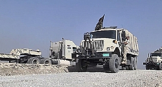 Pe�merge g��leri ile Irak ordusu aras�nda 'bayrak' krizi