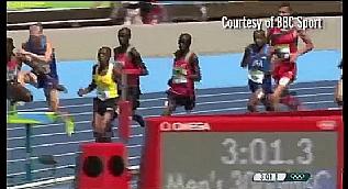 Ugandal� atletin olimpiyat kazas�