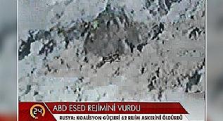 Abd Esed ordusunu bombalad�