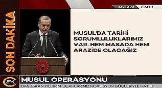 Cumhurba�kan� Erdo�an: El Bab'a do�ru ilerliyoruz