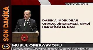 Cumhurba�kan� Erdo�an: ABD tamam dedi, bizden yard�m istedi