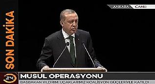 Cumhurba�kan� Erdo�an: Hem arazide olaca��z hem de masada olaca��z