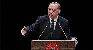 Cumhurba�kan� Erdo�an: Bize kabaday�l�k yapaca��na git DEA� ve PKK ile u�ra�