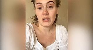 Adele'den �z�r videosu