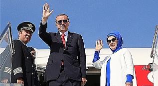 Cumhurba�kan� Erdo�an ABD'ye gitti