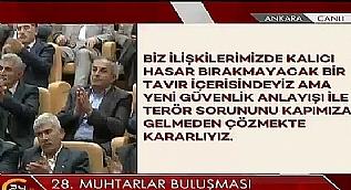 Cumhurba�kan� Erdo�an 28. Muhtarlar Bulu�mas�'nda konu�tu-2