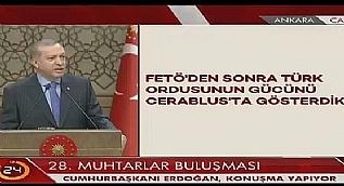 Cumhurba�kan� Erdo�an 28. Muhtarlar Bulu�mas�'nda konu�tu-3