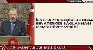 Cumhurba�kan� Erdo�an 28. Muhtarlar Bulu�mas�'nda konu�tu-4