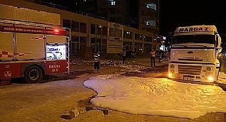 Mardin'de panik yaratan tanker
