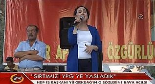 HDP'de Y�ksekda�, �nder ve �calan hakk�nda dava a��ld�