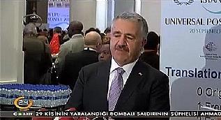 Marmaray kazas�yla ilgili Bakan Arslan'dan a��klama