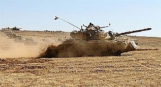 Suriye'de DAE�'i vuran tanklar�m�z b�yle g�r�nt�lendi!