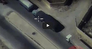 Rusya vurulan konvoyun g�r�nt�s�n� yay�nlad�
