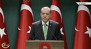 Cumhurba�kan� Erdo�an: 14 y�ll�k hayalim ger�ek oldu