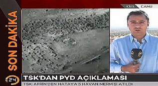 TSK: PYD Afrin'den T�rkiye'ye havan mermisi att�