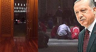 Sabah ezan�n� Cumhurba�kan� Erdo�an okudu