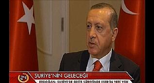 Cumhurba�kan� Erdo�an, Reuters�a konu�tu