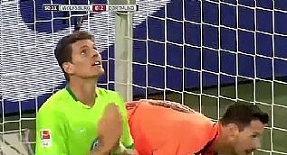 Mario Gomez'in ka��rd��� inan�lmaz gol