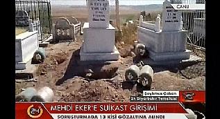 Mehdi Eker'e suikast giri�iminde 15 g�zalt�