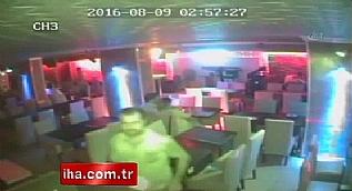 Bardaki cinayet kamerada... Rahatl��� pes dedirtti