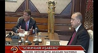 Carter: T�rkiye Irak ile prensipte anla�t�