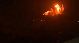 �srail'den Gazze'ye 70 f�zeyle hava sald�r�s�