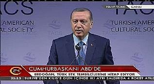 Cumhurba�kan� Erdo�an: Bir meczubun, �arlatan�n arkas�na tak�ld�lar