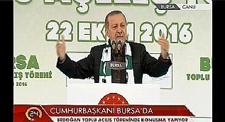 Cumhurba�kan� Erdo�an son noktay� koydu: Sizi de cezaevine t�kar�z