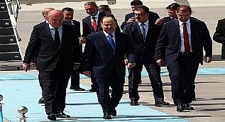 Mesut Barzani Ankara'da