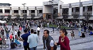 Forum �stanbul'da vatanda�lar AVM'den tahliye edildi