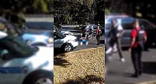ABD'deki 'polis �iddeti' cep telefonu kameras�nda