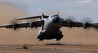 A400M kum psit testlerini ba�ar�yla tamamlad�